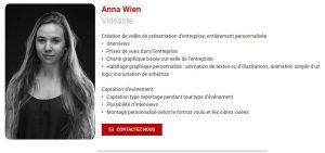 anna vidéaste indépendant freelance commercial recrutement externe externalisation