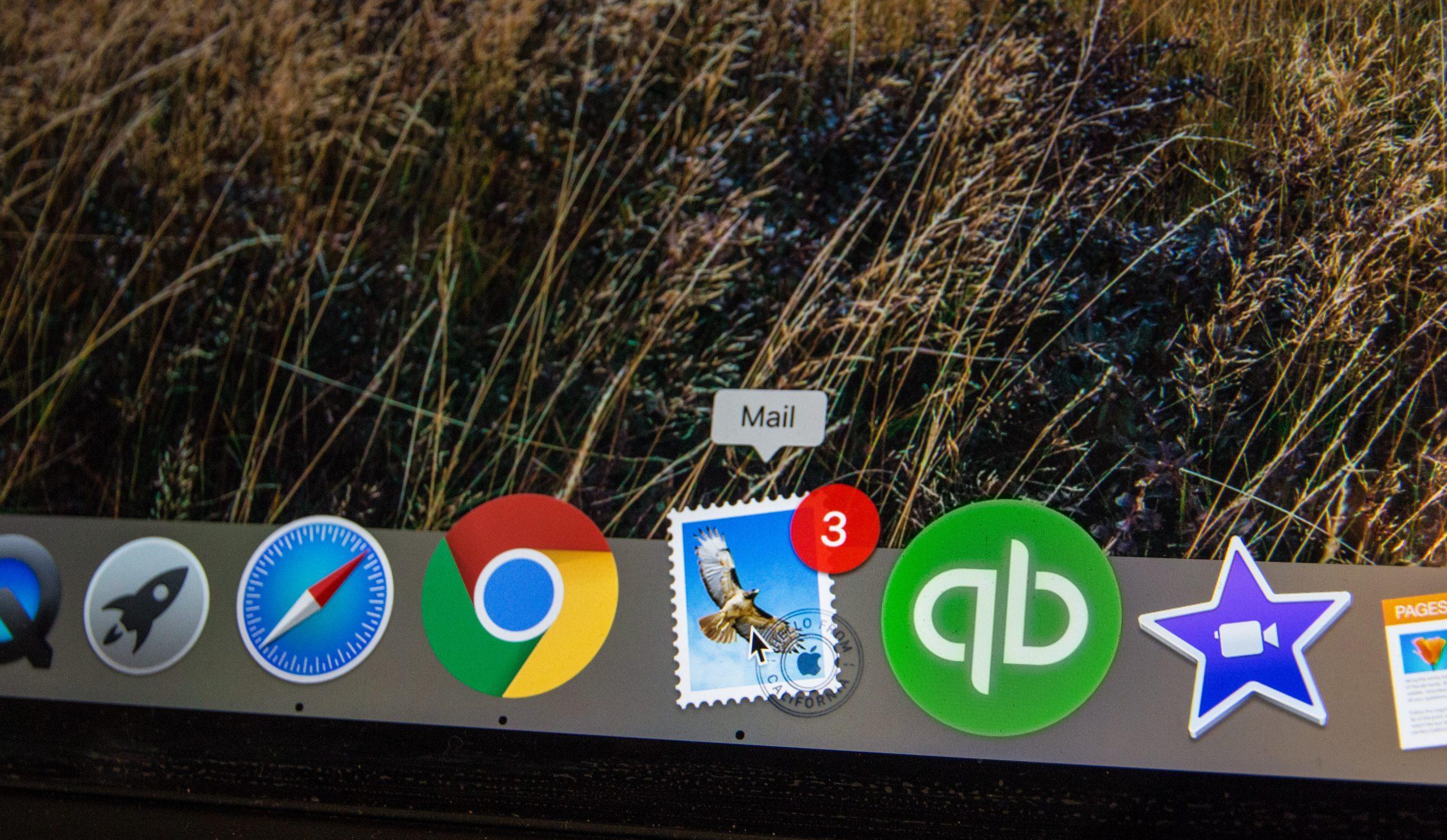 notifications emails MacBook